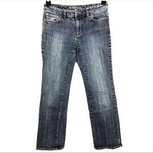 MK Michael Kors Sz 4 / 31 Blue Denim Straight Legs